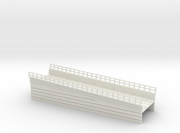 MARKET EL RAMP PT3 HO SCALE in White Strong & Flexible