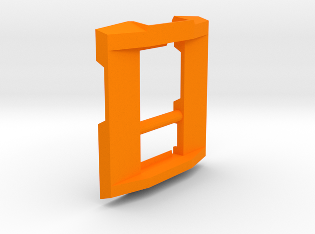 "Buckle Latch for Ryobi ""Cordless 18V SixPack"" Case in Orange Processed Versatile Plastic"