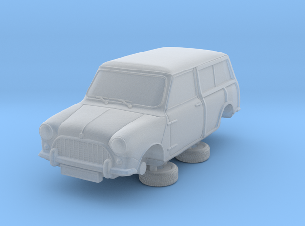 1-87 Austin 60 Estate in Smooth Fine Detail Plastic