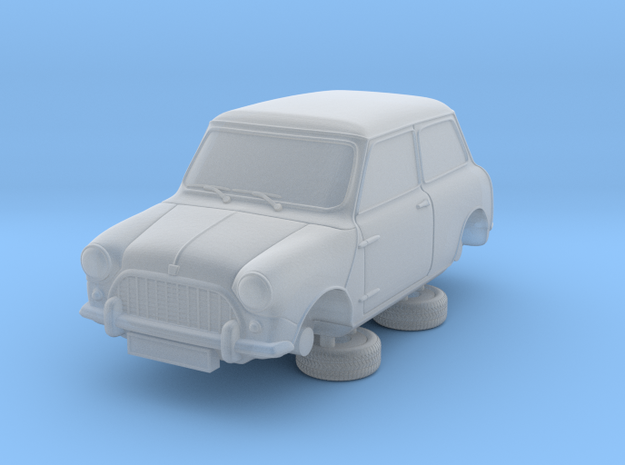 1-76 Austin 58 Saloon in Smooth Fine Detail Plastic