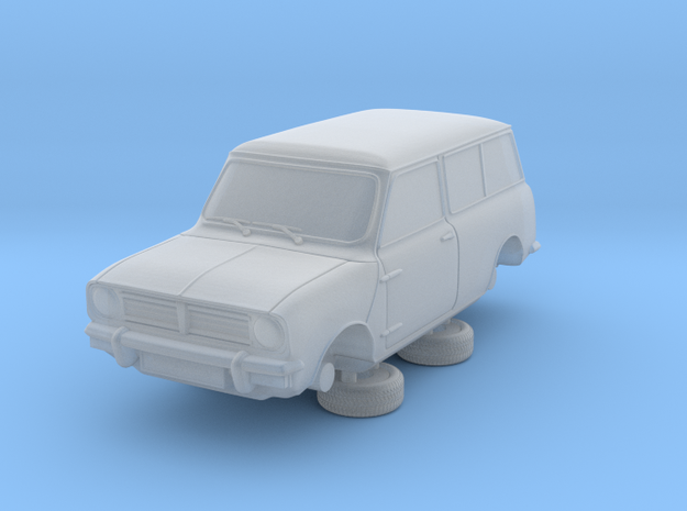 1-76 Austin 74 Estate in Smooth Fine Detail Plastic