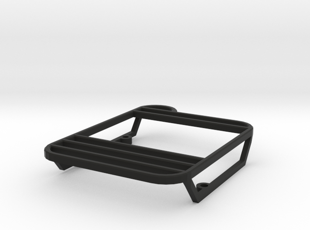Rear lights protector left w/o ladder D90 D110 TRC in Black Natural Versatile Plastic