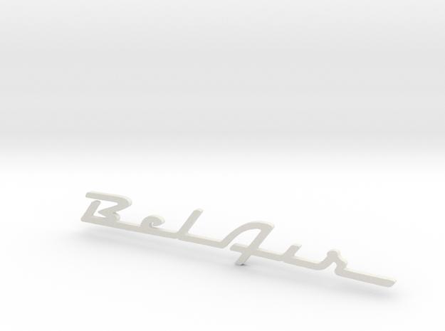 BelAir Script in White Strong & Flexible