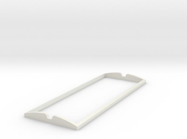 Lomma Xerion Sadldle Trac Part 1 in White Natural Versatile Plastic