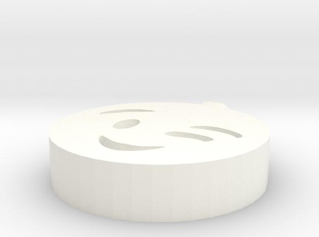 Perversion pendant in White Processed Versatile Plastic