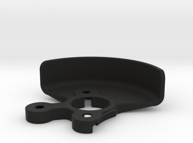 2612 - B6 LAYDOWN GEAR Shield in Black Strong & Flexible
