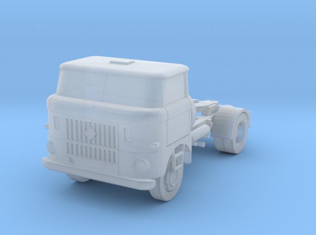 W50-Sattelzugmaschine / Semi truck (N, 1:160) in Smoothest Fine Detail Plastic