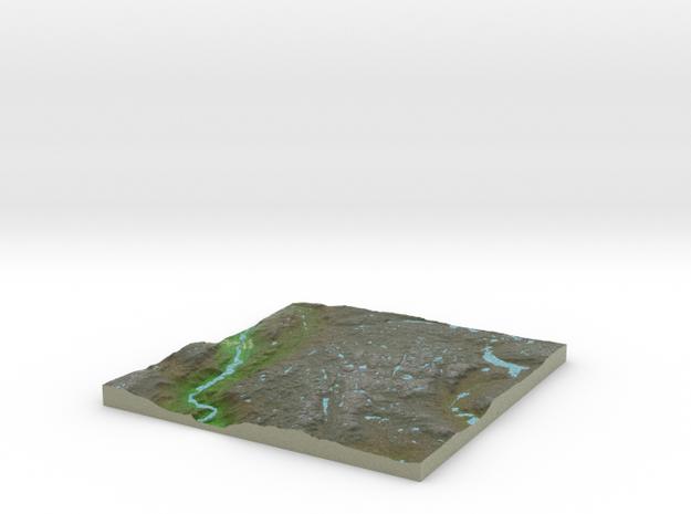 Terrafab generated model Mon Dec 05 2016 22:54:45  in Full Color Sandstone