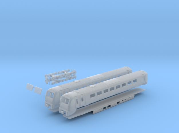 Class 175 N Gauge REFERENCE ONLY in Smooth Fine Detail Plastic