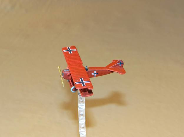 Fokker D.VII 1:144th Scale in White Natural Versatile Plastic