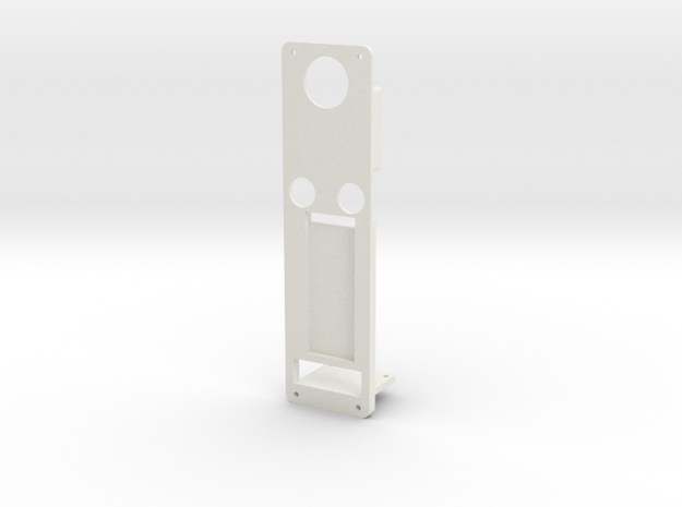 DNA60 Mounting Plate w/USB Large Screen in White Natural Versatile Plastic
