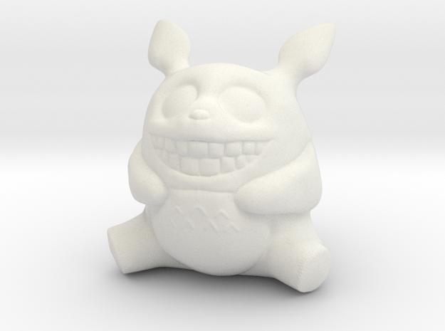 Totoro in White Natural Versatile Plastic