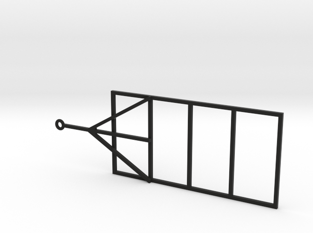 1.24 Scale Trailer Frame in Black Strong & Flexible