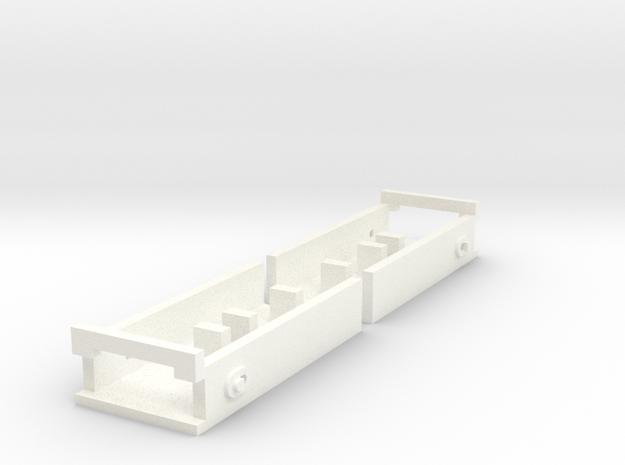 Atlas O Scale Coupler Box in White Processed Versatile Plastic