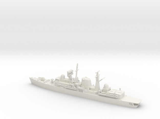 1/700 Type 42 Batch 1 HMS Sheffield in White Natural Versatile Plastic
