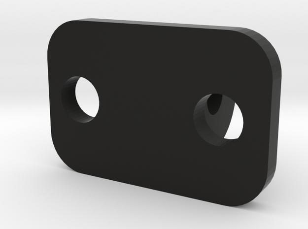 Go Pro Mount 2 Piece in Black Natural Versatile Plastic: Small