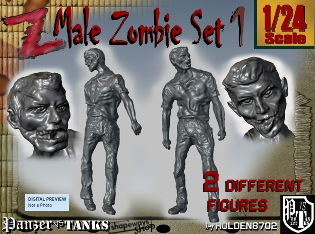 1-24 Male Zombie Set1