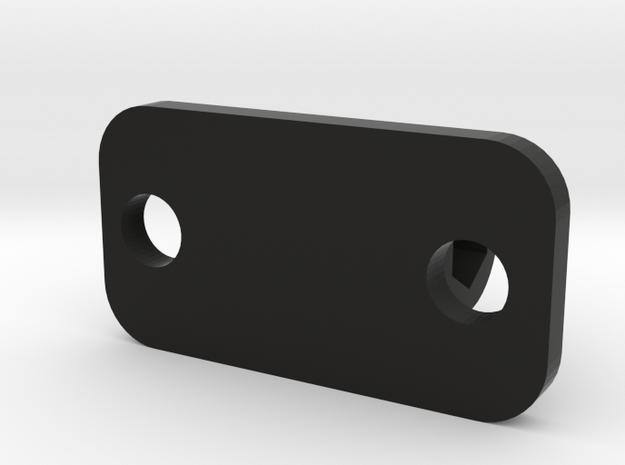 Go Pro Mount 3 Piece in Black Natural Versatile Plastic