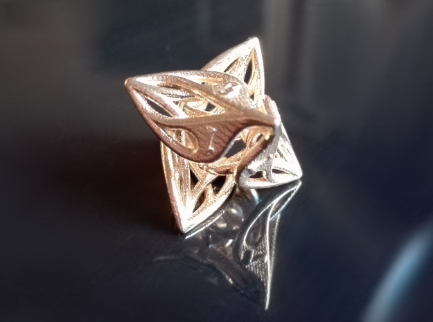 Curlicue 8-Sided Gaming Dice