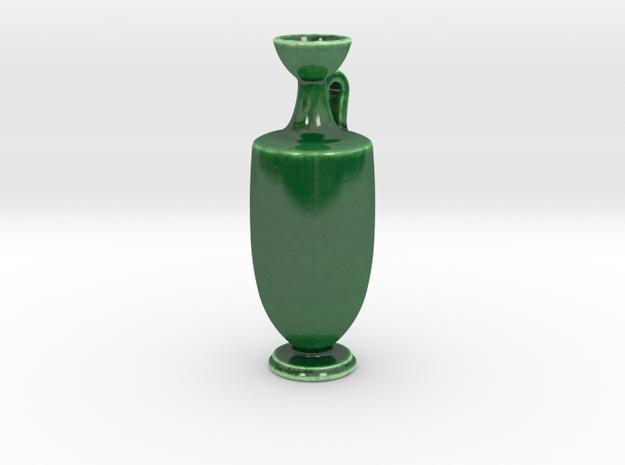 Antiquities Vessel 167 in Gloss Oribe Green Porcelain