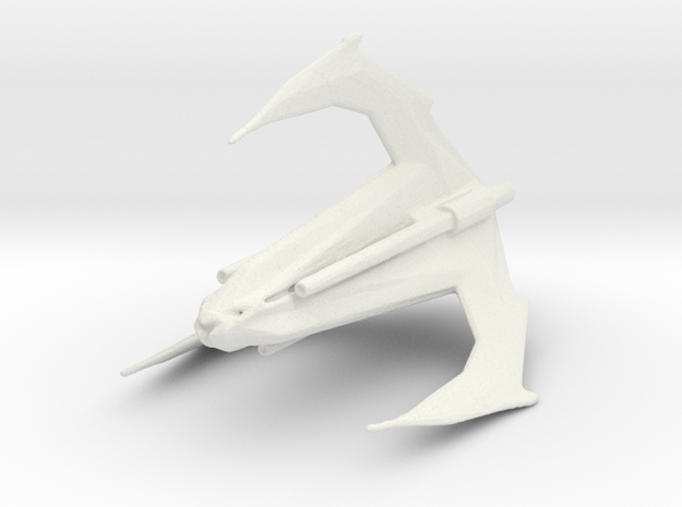 xindi insectoid attack ship in White Natural Versatile Plastic