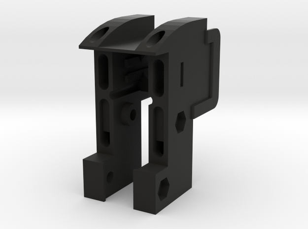 GL40 Upper (Part1 of 6) in Black Natural Versatile Plastic