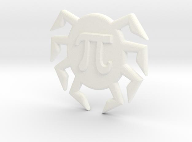 pi Crumbs Studios Logo Headphone Wrap in White Strong & Flexible Polished