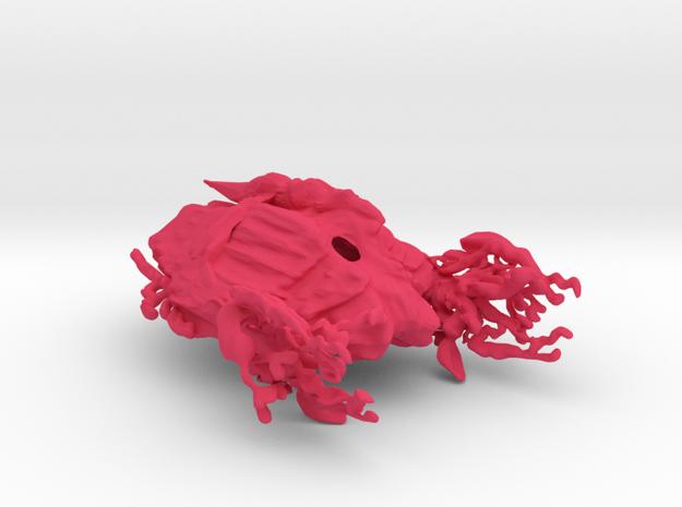 Swarm Comand Carrier in Pink Processed Versatile Plastic
