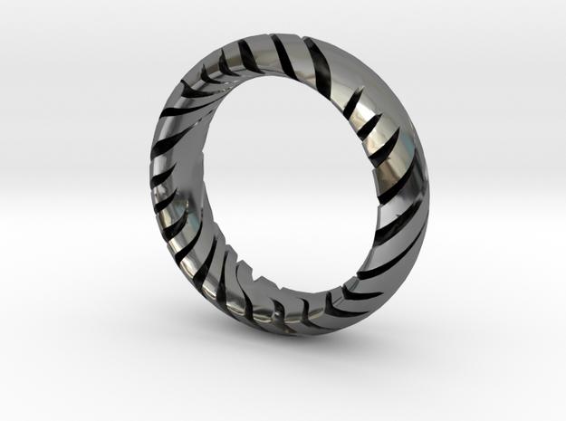 TIGER RING  in Premium Silver: 7 / 54