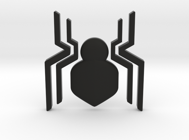 Spider-Man Homecoming Chest Symbol in Black Strong & Flexible