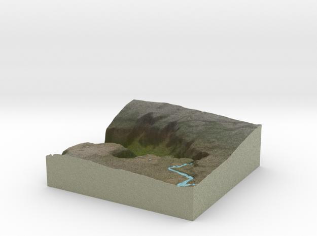 Terrafab generated model Mon Dec 05 2016 18:02:59  in Full Color Sandstone