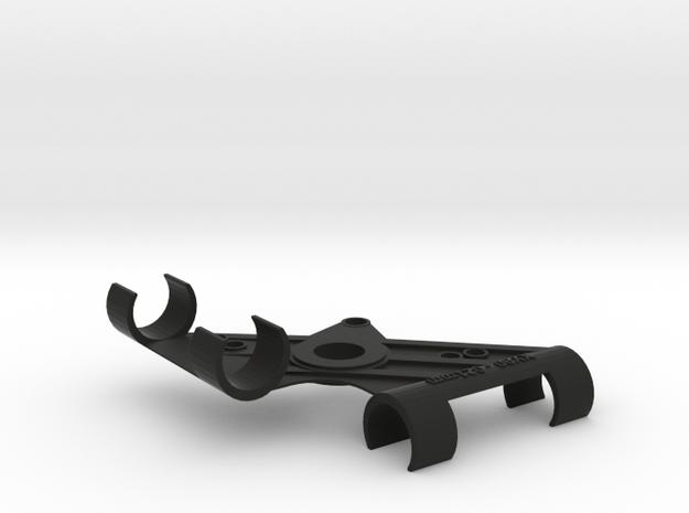 XY Stereo Mic Clip 21mm in Black Natural Versatile Plastic