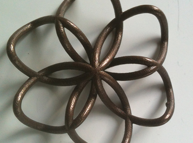 brochem 3d printed Matte Bronze Steel