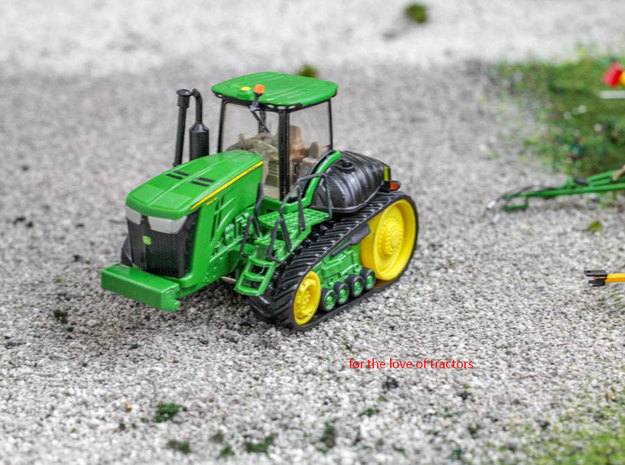 1/64 Deere 9000rt, 30, 20 ,10 series steps and rai in Smooth Fine Detail Plastic