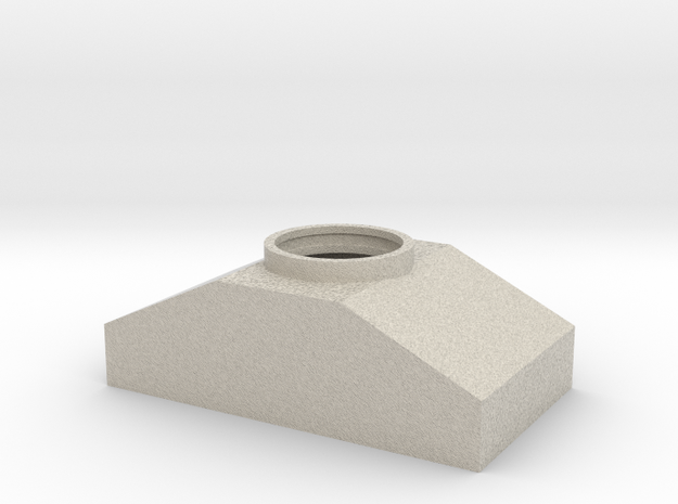 Smallest Projector Box in Sandstone