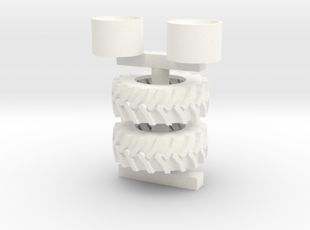 24.5-32 Set in White Processed Versatile Plastic