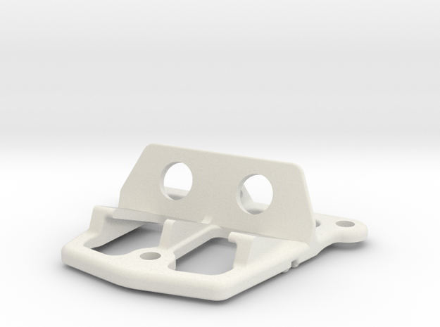 Cam Stand in White Natural Versatile Plastic