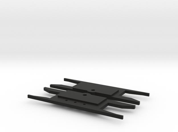 Lionel O Scale GP7/9 pilot spacer  (LOWERED) in Black Natural Versatile Plastic