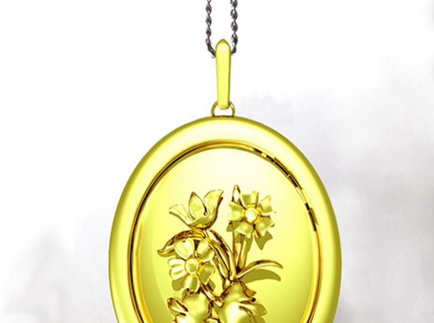 Beautiful Wild Flowers Pendant