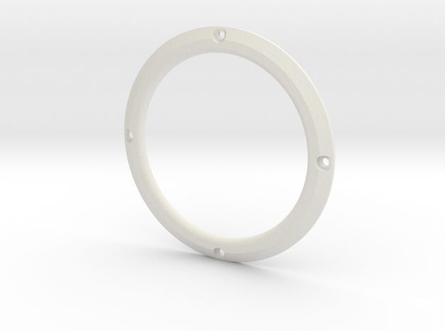 RE40 Zierring 4 Loch in White Natural Versatile Plastic