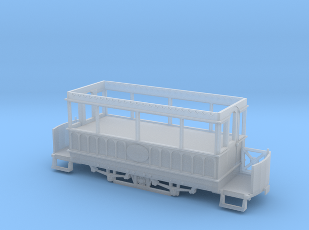 Giant's Causeway tram 2 for motorising in Frosted Ultra Detail