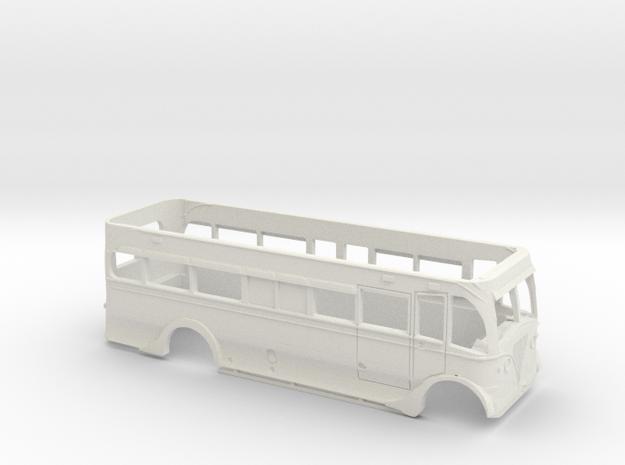 Blackpool Leyland Titan PD25 Lower Deck motorisabl in White Natural Versatile Plastic