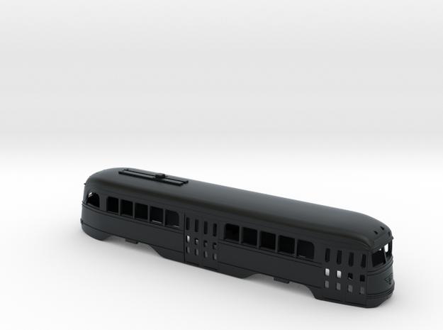 HO Prewar PCC PTC BODY for Bowser in Black Hi-Def Acrylate