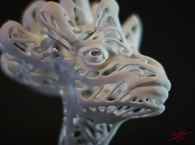 Animal Head 3d printed Animal Head