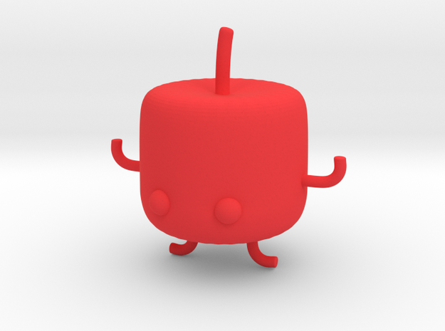 Junimo (Hollow) in Red Strong & Flexible Polished