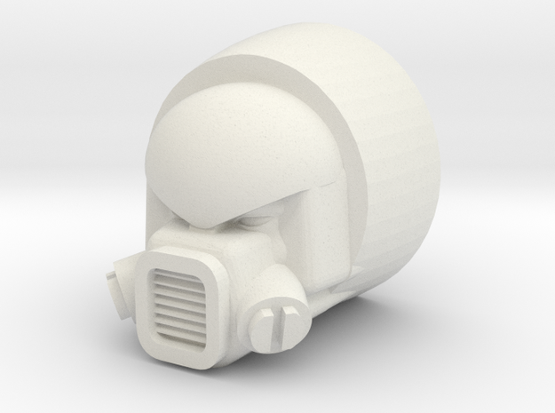 Strika head for CW Motormaster in White Natural Versatile Plastic