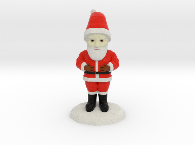 Santa Clause in Full Color Sandstone