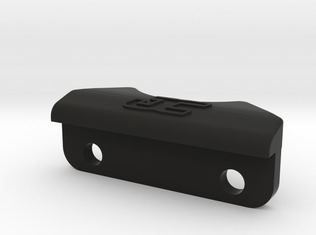 2619 - B6 REAR BUMPER 3D in Black Natural Versatile Plastic