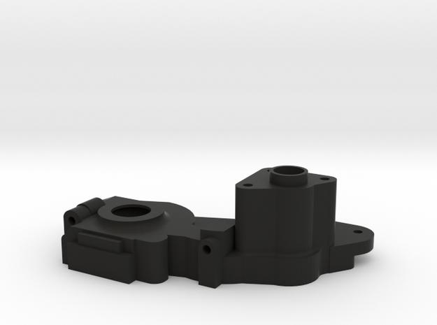V1 TLR 22 2.0 3 Gear Lay Down Transmission Right H in Black Natural Versatile Plastic