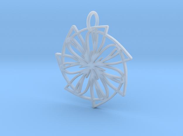Lemon Slice Medium Pendant in Smooth Fine Detail Plastic